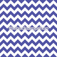 Blue and White Chevron Photography Backdrop - Item 1163