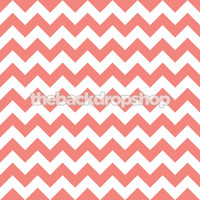 Pink and White Chevron Photography Backdrop - Item 1169