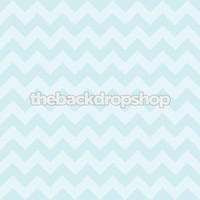 Pastel Turquoise Blue Photography Chevron Backdrop - Newborn Chevron Photo Background - Item 1181