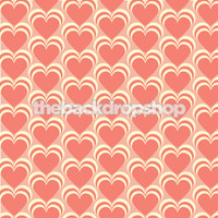 valentine heart photo backdrop item 1249 - Valentines Backdrops
