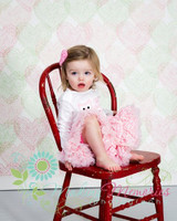 Heart Print Photography Drop for Newborns - Item 1352