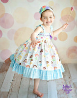 Pink & Orange Dot Photography Backdrop - Fun Kid's Photo Prop -  Back Drop Background - Item 1373