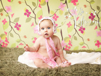 Newborn Backdrop for Photos - Cherry Blossom Drop -  Photography Back Drop - Item 1411