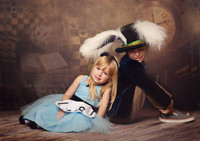 Alice in Wonderland Backdrop for Photos - Fairy Tale Photography Prop - Item 1418