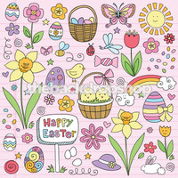 Easter Backdrop for Photography - Easter Photo Shoot Backdrop Prop - Item 1421