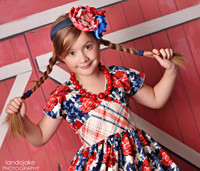 Red Barn Door Photography Backdrop - Red and White Barn Wall Backdrop -  Photo Background - Item 1433