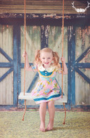 Green Barn Door Photo Backdrop - Barn Wall Photography Back Drop for Engagement and Family Portraits - Item 1463