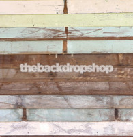 Pastel Painted Wood Floor Drop  for Photography - Item 1472
