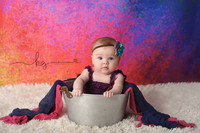 Rainbow Metallic Backdrop for Photography - Item 1508