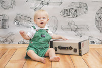 Car Airplane and Camera Photography Backdrop -  Photo Backdrop for Photoshoots - Item 1597