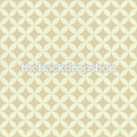 Brown and Yellow Photo Backdrop - Retro Wallpaper Childrens Photo Prop - Item 1731