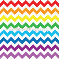 Rainbow Chevron Photography Backdrop - Kids Photo Backdrop Prop - Party Photo Booth Backdrop - Item 1799