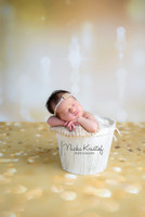 Gold Twinkle Lights Photography Backdrop - Item 1826