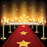 Hollywood Red Carpet Photography Backdrop - Item 1854