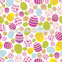 Easter Eggs Photography Backdrop - Item 1864