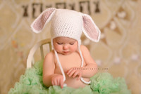 Easter Banner Backdrop - Gender Neutral Easter Photography Backdrop Easter Bunny Backdrop - Item 1922