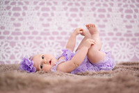 Purple Lace Design Backdrop - Item 2047