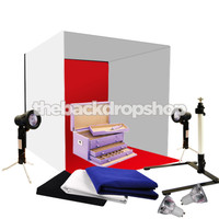 "24"" Photography Light Tent Backdrop Kit - 60cm Lighting in a Box - Photography Studio Equipment"