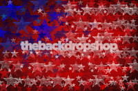 Fourth of July Flag Backdrop for Photography Studio - Red White and Blue Flag Background for Studio Pictures - Item 509