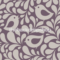 Dusty Purple Backdrop for Photos - Newborn Photography Backdrop - Birds - Vinyl or Poly - Item 1081