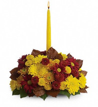 This beautiful fall arrangement makes it easy to harvest all of the happiness and warmth of the season and send it to someone special.