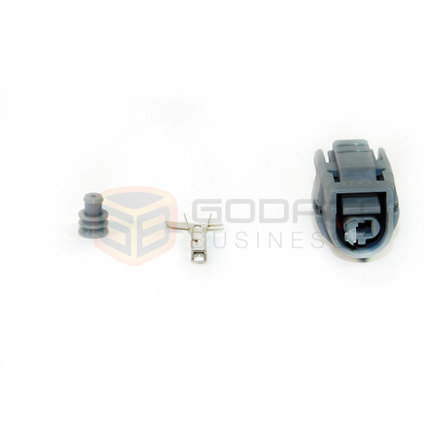 1x connector temperature sensor for toyota 2jz 90980 11428 w out rh godaca com 2010 Toyota Connector Pins Toyota Wiring Harness Diagram
