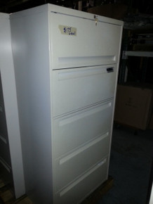 Used 4 Drawer and 5 Drawer Lateral Files