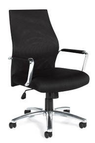 Global OT11657B Ergonomic Mesh Executive or Conference Chair