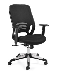 OTG11685B Ergonomic Mesh Work or Executive Chair