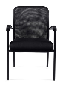 OTG11760B MESH BACK GUEST CHAIR