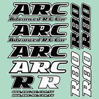 ARC R8.0 Decal