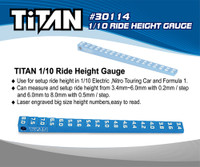 TiTAN 1/10 Ride Height Gauge