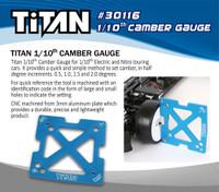 TiTAN 1/10 Camber Gauge
