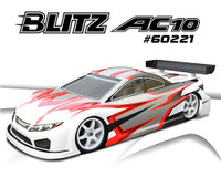 BLITZ AC10 1/10 190mm Touring Car Bodyshell (0.8mm)