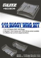 BLITZ 1/10 Buggy Wing Set