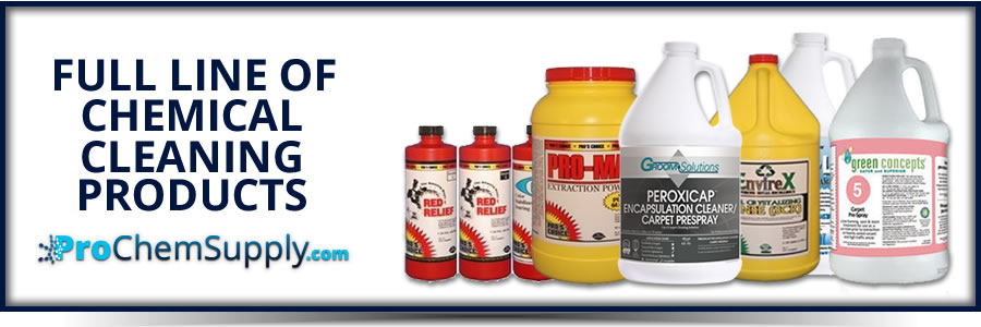 chemical cleaning products