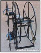 Rokan ELECTRIC Triple LIVE Hose Reel Package V38-300-TLE  sc 1 st  Professional Chemical Supply : live hose reel - www.happyfamilyinstitute.com