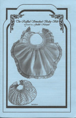 Ruffled Smocked Bib leaflet by Judith Marquis