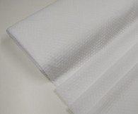 Swiss plumetis (voile) 100% cotton in white with white cut spot priced per metre 138 cm wide priced per metre