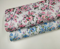 Chelsea Garden design 100% cotton floral fabric - 148 cm wide