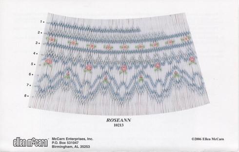 Roseann Smocking Plate by Ellen McCarn