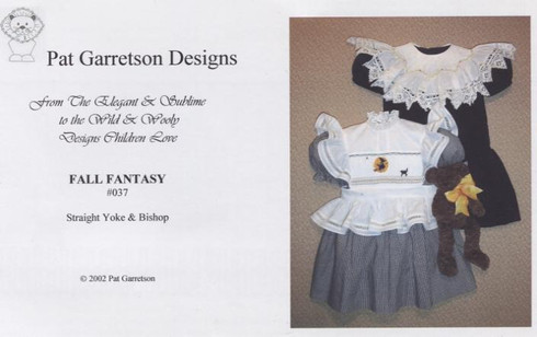Two designs, one for Halloween and one for a bishop by Pat Garretson Designs