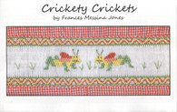 Crickety Cricket smocking plate by Frances Messina Jones