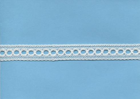Lace beading in ecru 1.5 cm wide