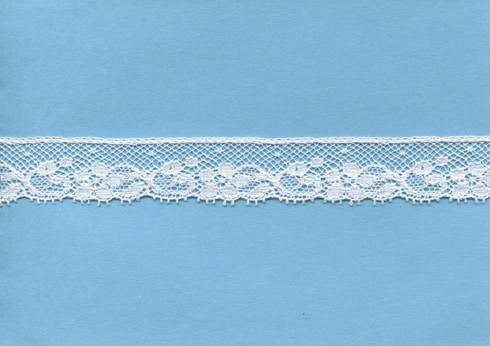French edging lace in champagne 2 cm wide