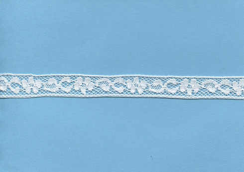 French flower design insertion lace 1.3 cm wide