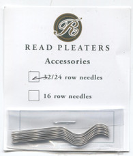 Pack of 12 Read 32/24 Smocking Pleater Needles