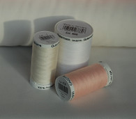 Gutermann Sew All Thread in White, Pink or Cream