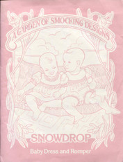 Snowdrop a Smocked Baby Dress and Romper pattern