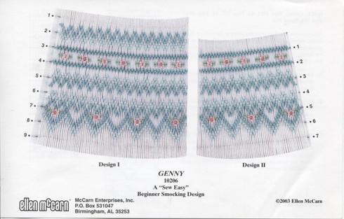 Smocking Plate Genny by Ellen McCarn